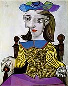 Dora 1939 - Pablo Picasso reproduction oil painting