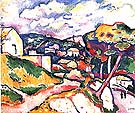 Landscape l'Estaque 1906 - Georges Braque