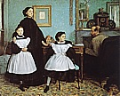 The Bellelli Family, 1858-67 - Edgar Degas reproduction oil painting