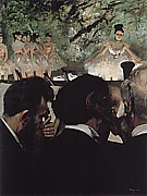 Orchestra Musicians, 1870-71 - Edgar Degas reproduction oil painting