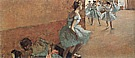 Dancers Climbing the Stairs, about 1886-90 - Edgar Degas reproduction oil painting