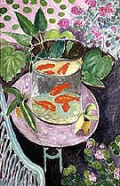Red Fish 1912 - Henri Matisse reproduction oil painting