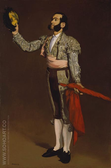 A Matador 1866 - Edouard Manet reproduction oil painting