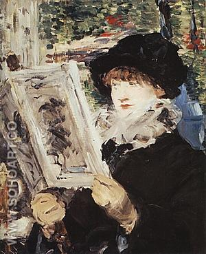Le Journal Illustre c1878 - Edouard Manet reproduction oil painting