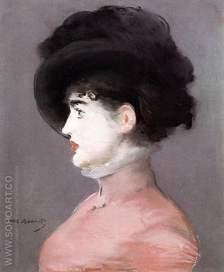 La Viennoise Portrait of Irma Brunner 1882 - Edouard Manet reproduction oil painting