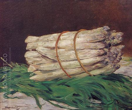 Bunch of Asparagus 1880 - Edouard Manet reproduction oil painting