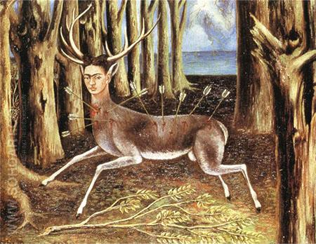 Wounded Deer 1946 - Frida Kahlo reproduction oil painting