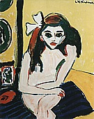 Marcella, 1909/10 - Ernst Kirchner reproduction oil painting