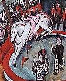 Girl Circus Rider, 1912 - Ernst Kirchner reproduction oil painting
