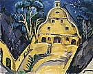 Staberhof Country Estate, Fehmarn I, 1913 - Ernst Kirchner reproduction oil painting