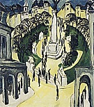 Belle-Alliance-Platz, Berlin, 1914 - Ernst Kirchner reproduction oil painting