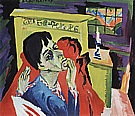 Self-Portrait as a Sick Man, 1918/1920 - Ernst Kirchner