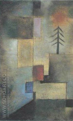 Little Pine Tree 1922 - Paul Klee reproduction oil painting