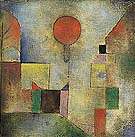 Red Balloon 1922 - Paul Klee reproduction oil painting