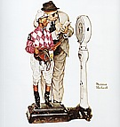 Weighing In (The Jockey), 1958 - Fred Scraggs reproduction oil painting