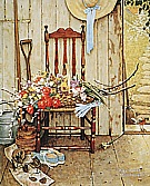 Spring Flowers, 1969 - Fred Scraggs reproduction oil painting