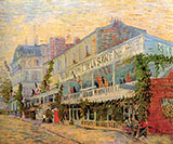The Restaurant de la Sirene at Asnieres, 1887 - Vincent van Gogh reproduction oil painting