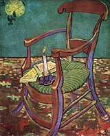 Gauguin's Chair, 1888 - Vincent van Gogh reproduction oil painting