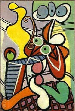 Yellow Jug - Pablo Picasso reproduction oil painting