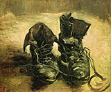 A Pair of Shoes 1886 - Vincent van Gogh reproduction oil painting