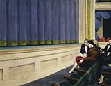 First Row Orchestra, 1951 - Edward Hopper