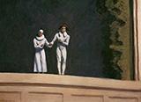 Two Comedians, 1966 - Edward Hopper
