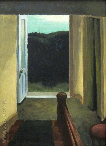 Stairway, 1949 - Edward Hopper reproduction oil painting