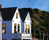 Second Storey Sunlight, 1960 - Edward Hopper reproduction oil painting