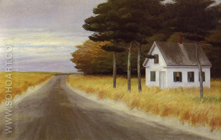 Solitude No 56 1944 - Edward Hopper reproduction oil painting