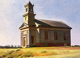 South Truro Church, 1930 - Edward Hopper reproduction oil painting