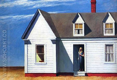 High Noon, 1949 - Edward Hopper reproduction oil painting