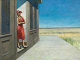South Carolina Morning 1955 - Edward Hopper reproduction oil painting