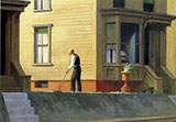 Pennsylvania Coal Town, 1947 - Edward Hopper reproduction oil painting