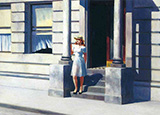 Summertime 1943 - Edward Hopper reproduction oil painting