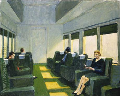Chair Car, 1965 - Edward Hopper reproduction oil painting