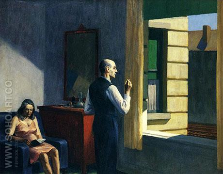 Hotel By A Railroad, 1952 - Edward Hopper reproduction oil painting