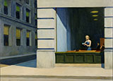 New York Office 1962 - Edward Hopper reproduction oil painting