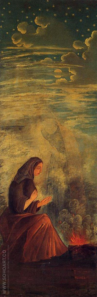 Winter, c. 1860-1862 - Paul Cezanne reproduction oil painting