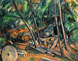Woods with Millstone - Paul Cezanne