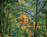 View of Chateau Noir 1904 - Paul Cezanne
