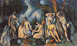 The Large Bathers c1905 - Paul Cezanne
