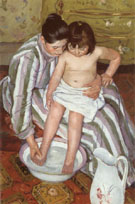 The Bath, 1893 - Mary Cassatt