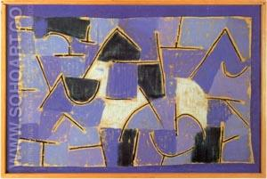 Blue Night 1937 - Paul Klee reproduction oil painting