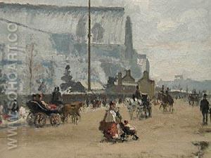 Upper Norwood, Crystal Palace 1870 - Camille Pissarro reproduction oil painting