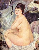 Nude Anna 1987 - Pierre Auguste Renoir reproduction oil painting