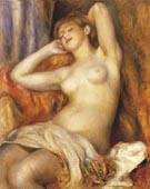 Sleeping Bather 1897 (Sleeping Woman) - Pierre Auguste Renoir