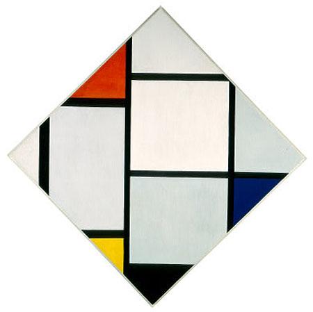 Tableau IV c1924 - Piet Mondrian reproduction oil painting