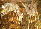 Deer at Dusk - Franz Marc