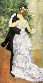 Dance in the City 1882-3 - Pierre Auguste Renoir