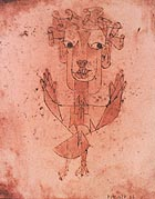 Angelos Novus 1910 - Paul Klee reproduction oil painting